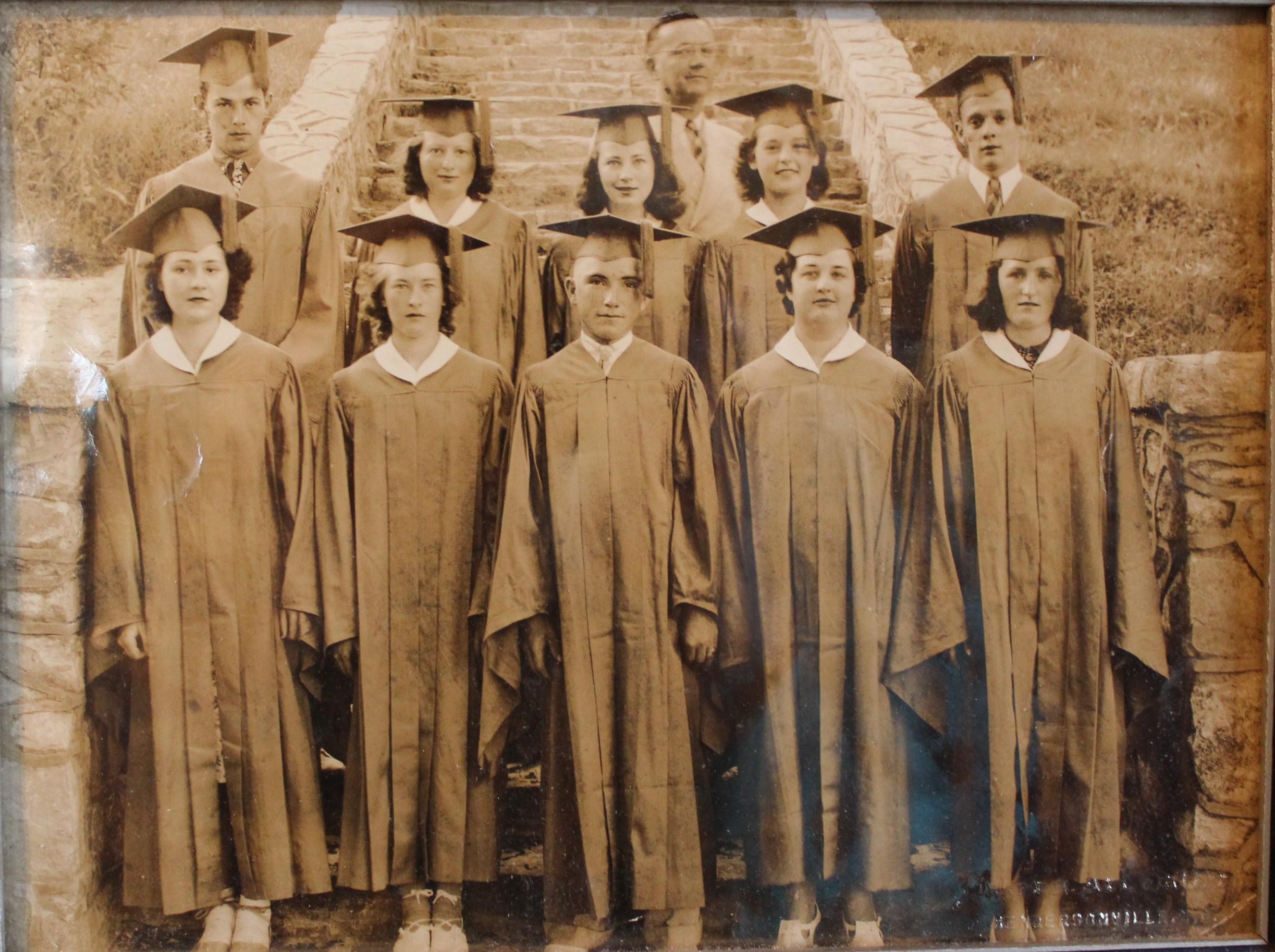 Saluda School Class of 1939