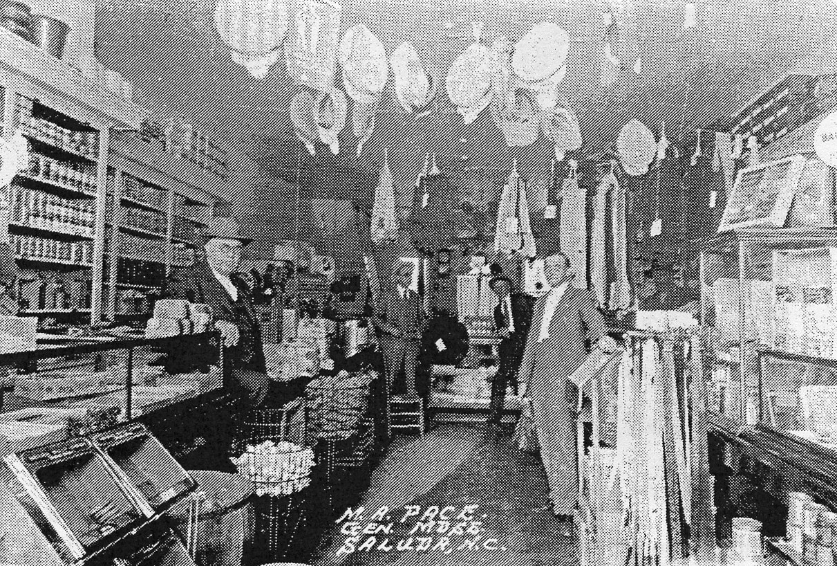 Pace's Store in the early 1900s
