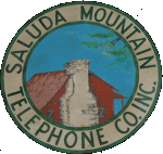 saluda mtn telephone sign